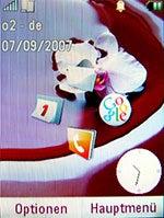 MOTORAZR2 V8: Startbildschirm