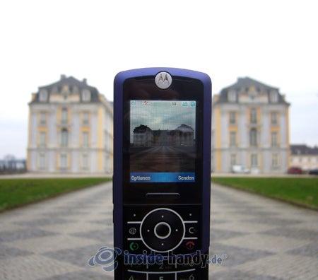 MotoRIZR Z3 - beim Fotografieren