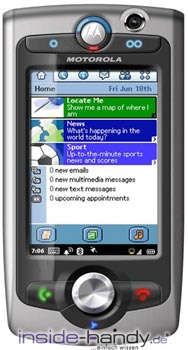 Motorola A1010 Datenblatt - Foto des Motorola A1010