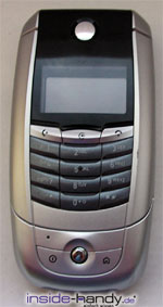 Motorola A780 - Front