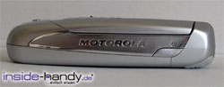 Motorola A780 - seitlich