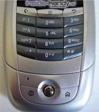 Motorola A780 - Tastatur