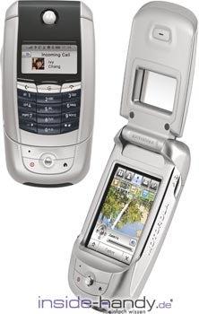 Motorola A780 Datenblatt - Foto des Motorola A780