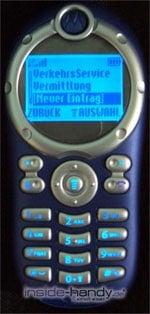 Motorola C116 - Beleuchtung