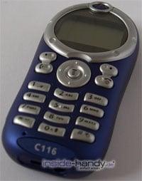 Motorola C116 - Oberseite