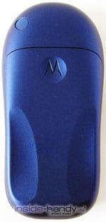 Motorola C116 - Rückseite