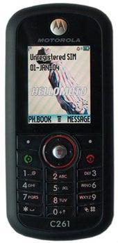 Motorola C261 Datenblatt - Foto des Motorola C261