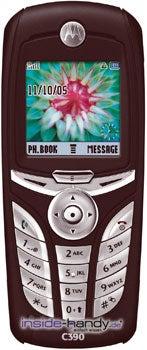 Motorola C390 Datenblatt - Foto des Motorola C390