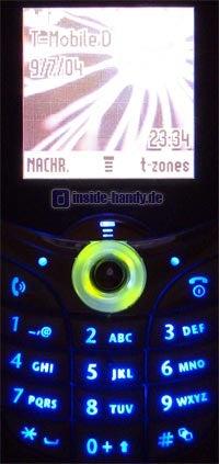 Motorola C650 - Beleuchtung