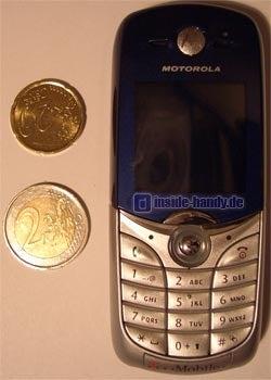 Motorola C650 - Größenvergleich