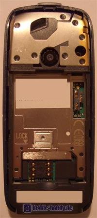 Motorola C650 - Innenansicht
