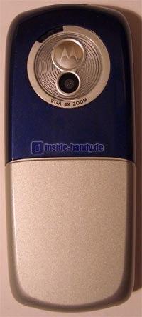 Motorola C650 - Rückseite