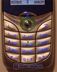 Motorola C650 - Tastatur