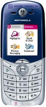 Motorola C650 Datenblatt - Foto des Motorola C650