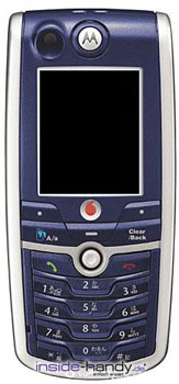 Motorola C980 Datenblatt - Foto des Motorola C980