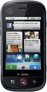 Motorola Dext Datenblatt - Foto des Motorola Dext