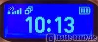 Motorola E550 - Aussendisplay