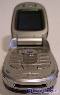 Motorola E550 - Innenansicht