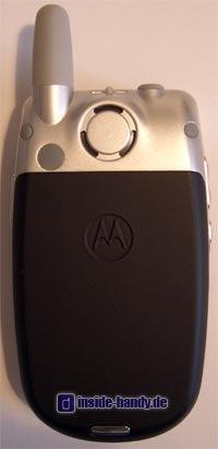 Motorola E550 - Rückseite