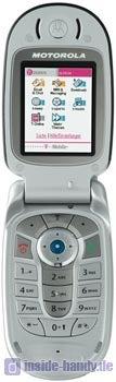 Motorola E550 Datenblatt - Foto des Motorola E550
