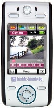 Motorola E680 Datenblatt - Foto des Motorola E680