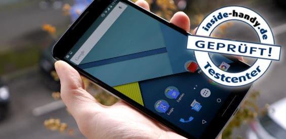 Google Nexus 6 im Test