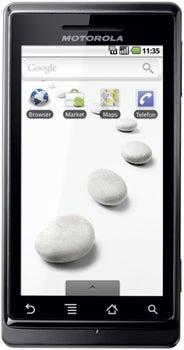 Motorola Milestone Datenblatt - Foto des Motorola Milestone
