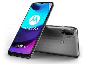 Motorola Moto E20 Front und Rückseite
