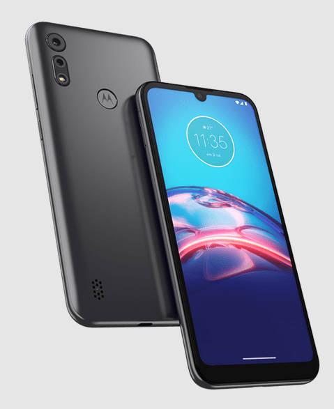 Vorder- und Rückseite des Motorola Moto E6i