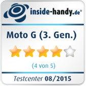 Motorola Moto G (3.Gen.)-Testsiegel