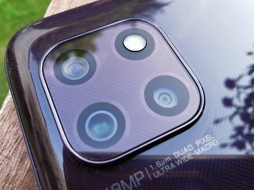 Die Triple-Kamera des Motorola Moto G 5G im Detail