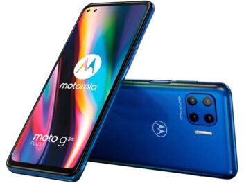 Motorola Moto G 5G Plus Vorderseite und Rückseite