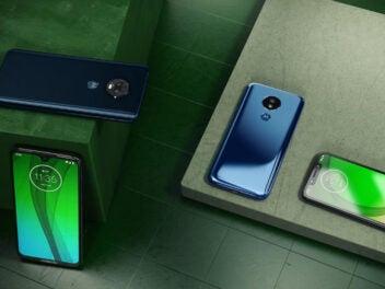 Motorola Moto-G7-Reihe mit Moto G7, G7 Power, G7 Play und G7 Plus