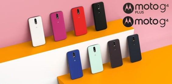 Motorola Moto G4 4. Generation Logo