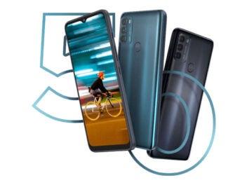 Motorola Moto G50 Front und Rückansicht
