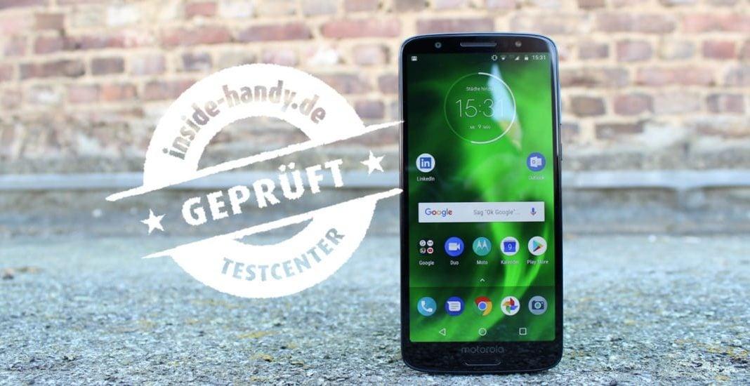 Motorola Moto G6 im Test geprüft