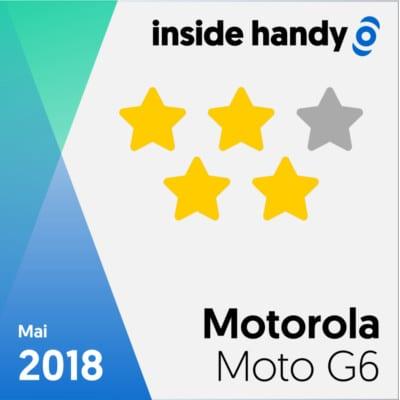 Motorola Moto G6 Testsiegel