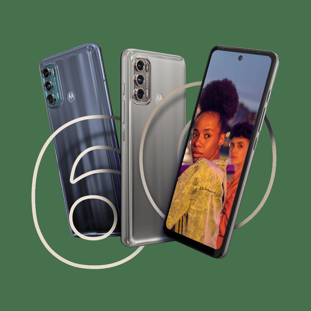 Motorola Moto G60 Front und Heckansicht