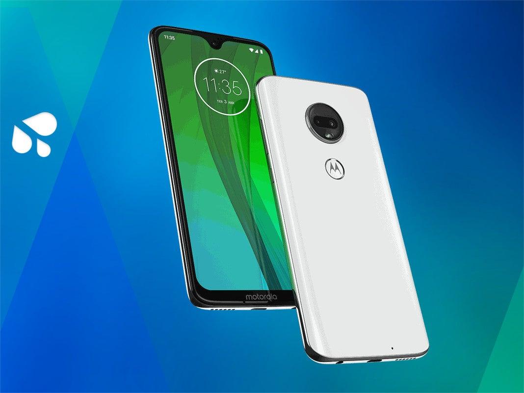 Das Motorola Moto G7
