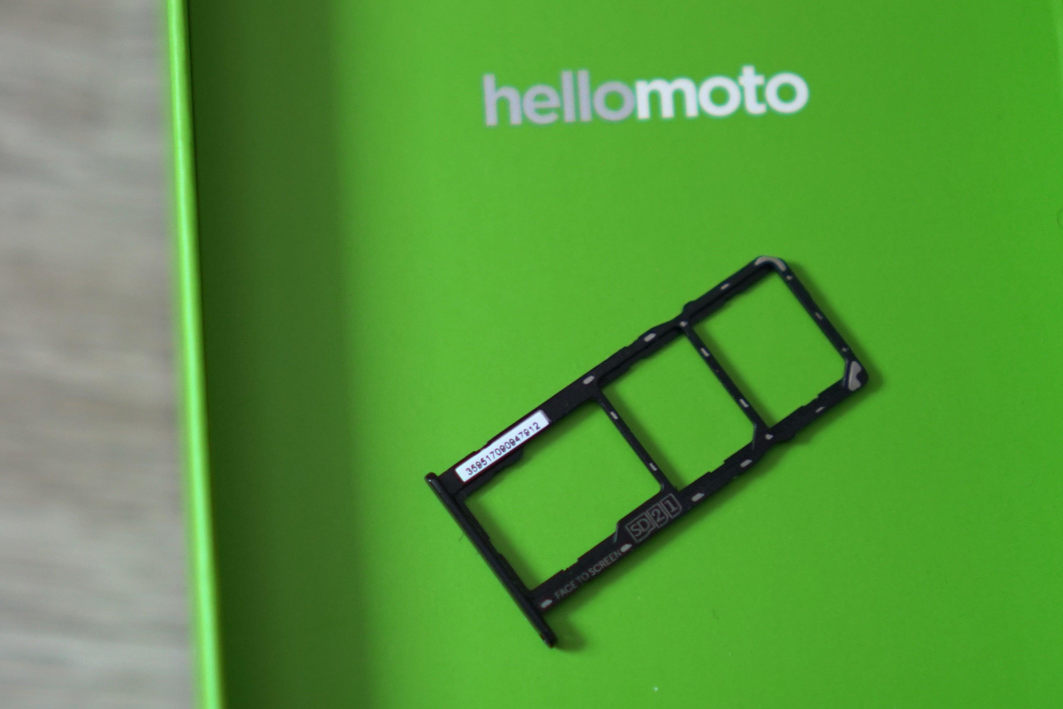 Motorola Moto G7 Power: Dual-SIM