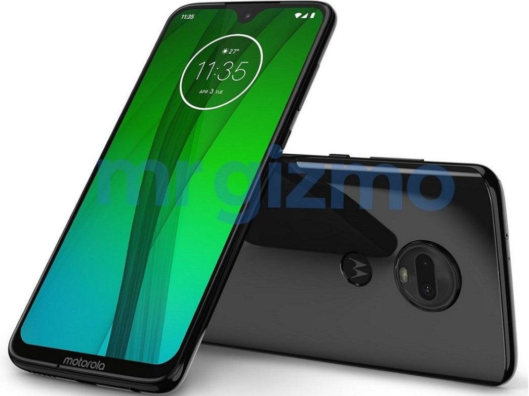 Von vorne und hinten: Das Motorola Moto G7