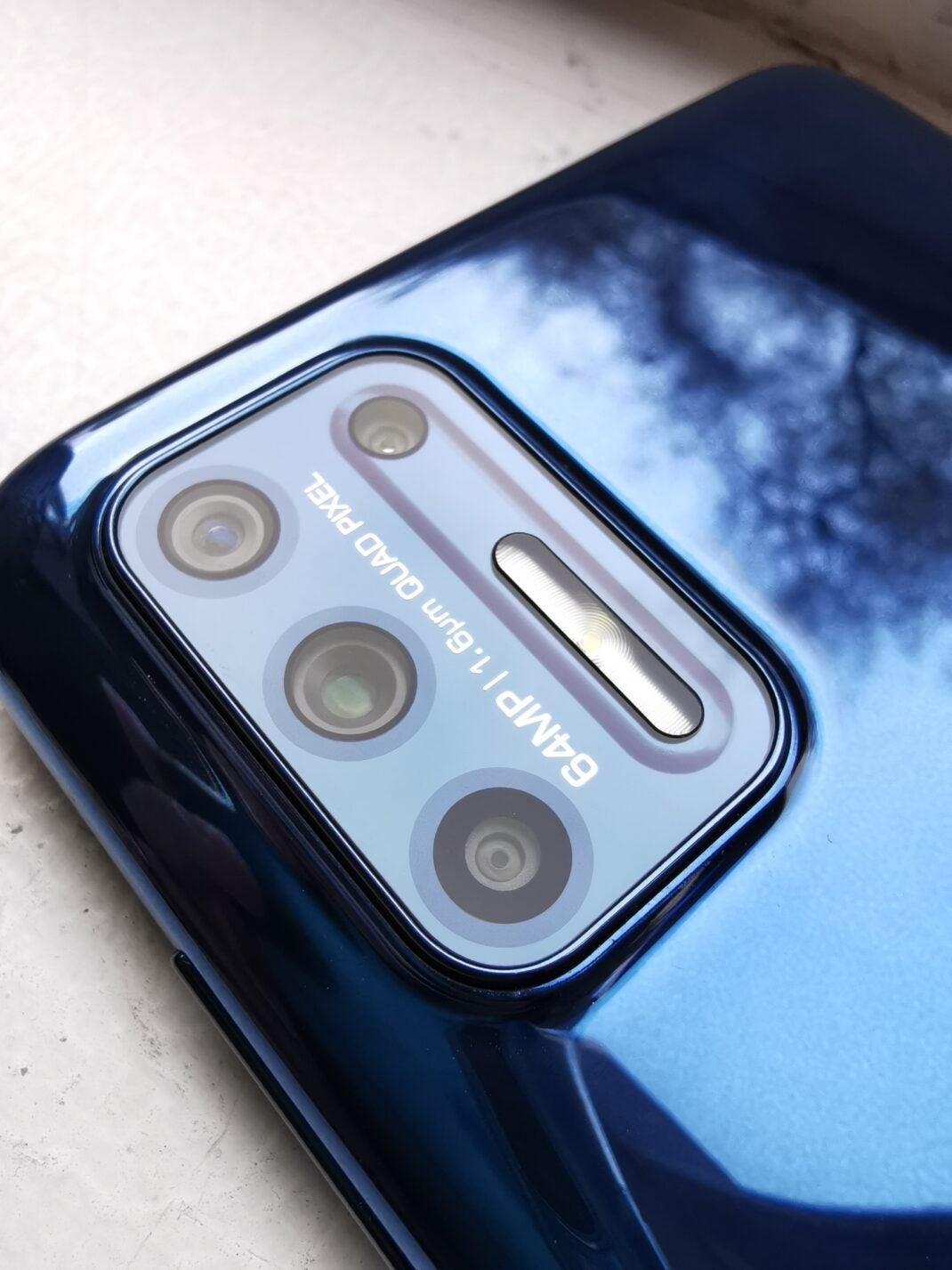 Hauptkamera des Motorola Moto G9 Plus