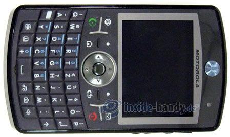 Motorola Moto Q 9h: Draufsicht