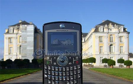 Motorola Moto Q 9h: Foto Schloss