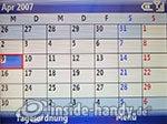 Motorola Moto Q 9h: Kalender