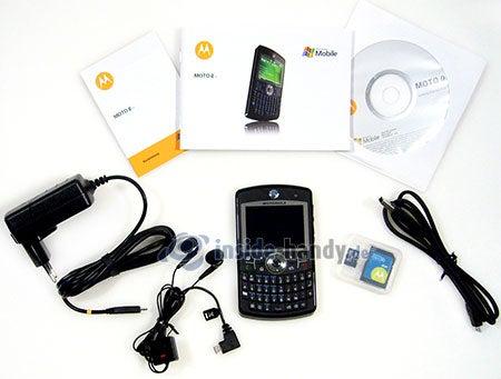 Motorola Moto Q 9h: Lieferumfang