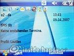 Motorola Moto Q 9h: Startbild
