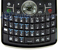 Motorola Moto Q 9h: Tastatur