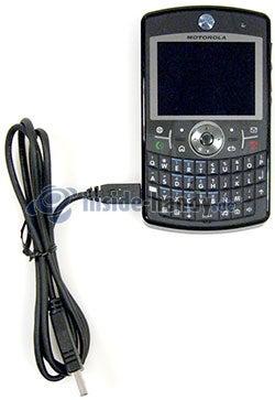 Motorola Moto Q 9h: USB-Kabel