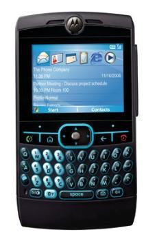 Motorola Moto Q gsm Datenblatt - Foto des Motorola Moto Q gsm